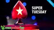 Hoy como todos los martes en PokerStars de juega el Super Tuesday!
