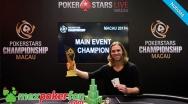 Elliot Smith es el ganador del PokerStars Championship de Macau !!!
