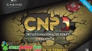 Dos buenas jornadas dan la mejor bienvenida al Circuito Nacional de Poker 2017