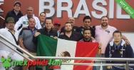 La armada mexicana se presenta para atacar el día 2