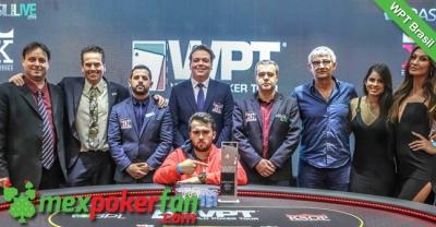 El Brasileño Raphael Francisquetti se corono en el primer WPT en Brasil